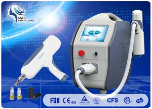 China ND Yag Q Switched Laser Tattoo Removal Machine For Skin Rejuvenation 1500mj on sale