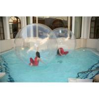 0.8mm TPU or PVC Huge Human Sphere Inflatable Walking On Water Ball