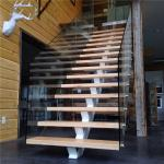 L shape interior stair railings with pvc stairs handrail laminate glass railing