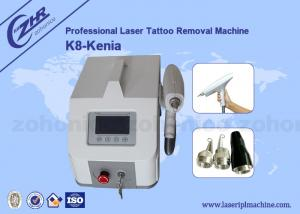 China 8.4 Led Screen Q Switch ND Yag Tattoo Removal Laser Equipment 1064nm & 532nm on sale