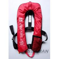 EN ISO12402-3 CE 150N Inflatable Adult Life Jacket Vest With Safety Harness & Lifeline