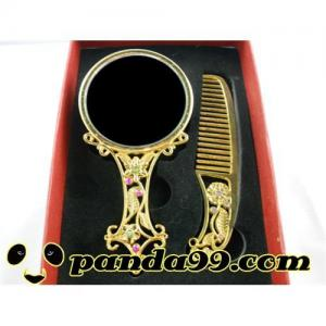 China Makeup  mirror mix comb    franky 0507 on sale