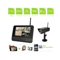 High Definition Wireless Internet Security Camera System , Motion Camera Security