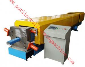 China Automatic Water Drainage Pipe Roll Forming Machine / Metal Eaves Gutter Equipment on sale
