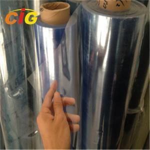 China Transparent Protective Plastic Film Sheet , Flexible Clear PVC Film Rolls on sale