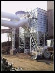 Cement Plant Pulse Jet Fabric Filter / Industrial Bag House Filter Dust Collector