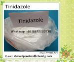 Tinidazole for Antiprotozoal API Pharmaceutical Raw Anti-Anaerobic Bacteria Powder Tinidazole 19387-91-8