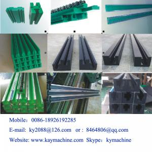 Conveyor Guide Rail UHMWPE strips for guide rail roller chain guide