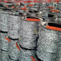 galvanized barbed wire/anti theft barbed wire mesh/barbed wire fencing manufacturers with SGS certificated