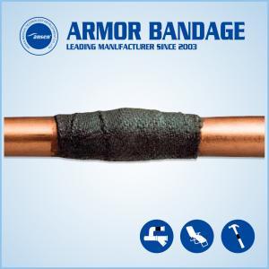 China High Strength Oil Gas Plumbing Pipe Leak Repair Bandage/Kit Anti-corrosion Online Leak Sealing Tape on sale