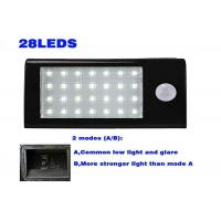 Security Led Solar Powered Outdoor Lights With Motion Detector Energy Saving