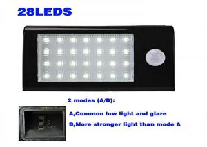 China Security Led Solar Powered Outdoor Lights With Motion Detector Energy Saving on sale