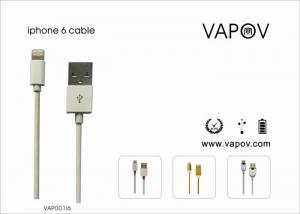 China Sync / Charging Cable For Apple iphone 5 / iphone 6 / ipad min / ipod nono / ipad air on sale