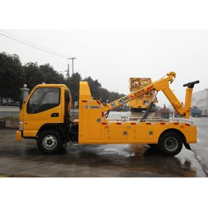 China Durable Hydraulic 6000kg Wrecker Tow Truck , Highway / City Road Occasion Breakdown Recovery Truck on sale