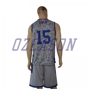 665eaee017bc ... Quality V neck full sublimation printing customized basketball jerseys  for sale