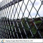 Expanded Metal Fencing Panels|0.5mm Steel Wire Fencing for Sports Fields China Factory