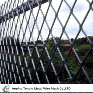 China Expanded Metal Fencing Panels|0.5mm Steel Wire Fencing for Sports Fields China Factory on sale