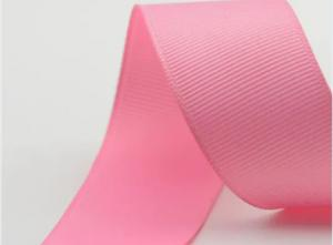 China 100 Polyester Grosgrain Ribbon , Satin Grosgrain Ribbon For Packing on sale