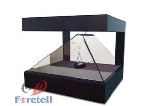 China Remote Control Hologram Window Display , 3d Hologram Screen Cabinet For Jewelry on sale