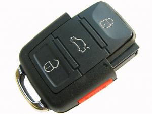 China 2002 2003 2004 2005 Volkswagen Transponder Flip remote unit/ 1J0 959 753 DC on sale