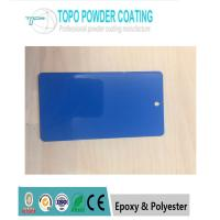 China RAL 5002 Motorcycle Powder Coating 180℃ Curing Temperature ROHS Certification on sale
