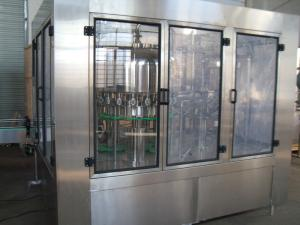 China Mineral Water Bottle Filling Machine for Non carbonated Drink 7.5Kw , 3 In 1 Unit on sale