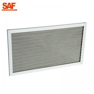 China Corrugated Aluminium Mesh Pre Air Filter Oil And Gas Separation Coarse Efficiency on sale