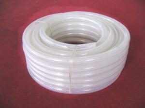 China pvc food grade polyester fiber reinforced hose on sale