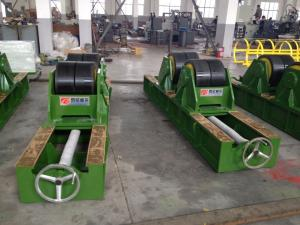 China Customized Pipe Welding Rotator Tank Vessel Pipe Welding Roller Stand on sale