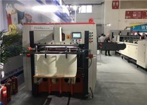 Quality Paper Fan Automatic Die Cutting Machine Low Noise With PLC Program Control for sale