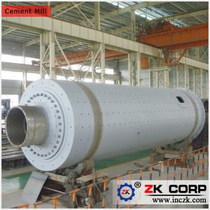 China Biggest Cement Mill Supplier / Cement Mill Production Performance on sale