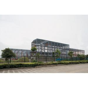 China Prefab Industrial Steel Buildings Fabrication With Low Maintenance on sale