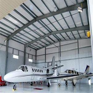 China pre-made metal steel warehouse prefabricated airplane steel hangar large buildings on sale