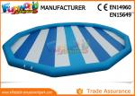 China Hot welding 0.9mm PVC Tarpaulin Inflatable Pool Slides For Inground Pools wholesale