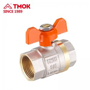 China Male Female 4 Inch 600w0g Lever Operated Ball Valve Water Shut Off on sale