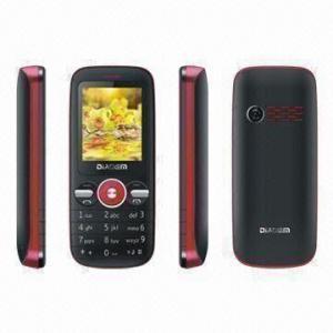 China CE/FCC Dual-SIM Phone, Supports Bluetooth/Camera/GPRS/WAP/MP3/MP4 Players and FM Radio on sale