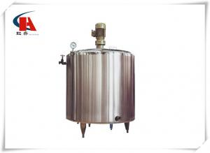 China Three Layer Stainless Steel Cylinder Tank , Stainless Water Tank Humanized Structure on sale