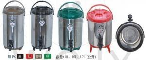 China El cubo del termo del acero inoxidable de WL-8L aisló el cubo del té/el refrigerador del almacenamiento del barril del té/el cubo del aislamiento on sale