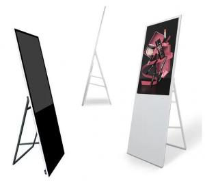China Led Backlit 43 1920*1080 500CD/Sqm Portable Digital Poster on sale