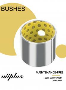 China Porous Polyme Plain Bushings Sankyo DIN European Standard PTFE Sleeve Bearings on sale
