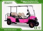 Fuel Type 4 Person Golf Cart Buggy 48 Voltage ADC Separately Motor