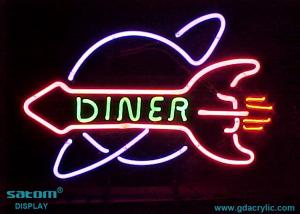 China Bright-coloured Custom Neon Signs , Free Design Pattern Provided on sale