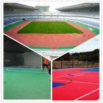 3W Outdoor Football Court / Suspend Interlocking / Pvc flooring