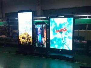 China Led Digital Billboard Advertising Player 55inch P3 Rental Aluminum cabinet on sale