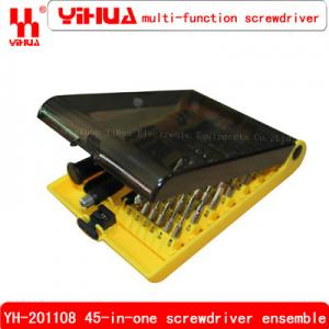 China YH-201108 Senior screwdriver set disassemble repair tools with sleeve on sale