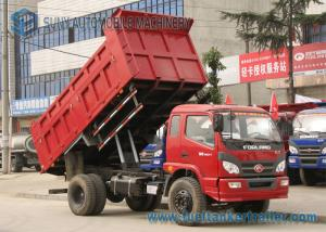 China Foton 2 Axles Garbage Trucks Heavy Duty Dump Truck 5000kgs 6000kgs Dump 4 x 2 Drive on sale