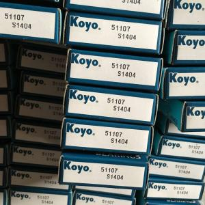 China JAPAN KOYO THRUST BALL BEARING 51107 BEARING 35mm*52mm*12mm exporting all over the world on sale