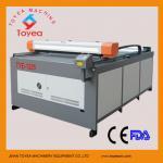 grande máquina de corte TIE-1225 do laser do metaloide do tamanho