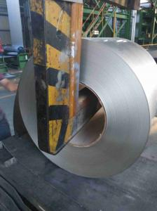 China SPCC / SPCD Hot Dipped Galvanized Steel Coils , AZ Galvalume Steel Coil on sale