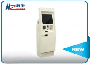 China 22 inch electronic Windows self service kiosk terminal with bill acceptor on sale